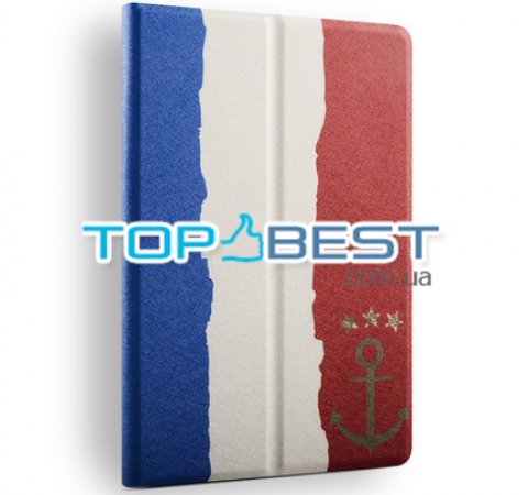 Чехол книжка для Xiaomi MiPad 3 7.9 Anomaly Graffiti Series (French flag) Французский флаг