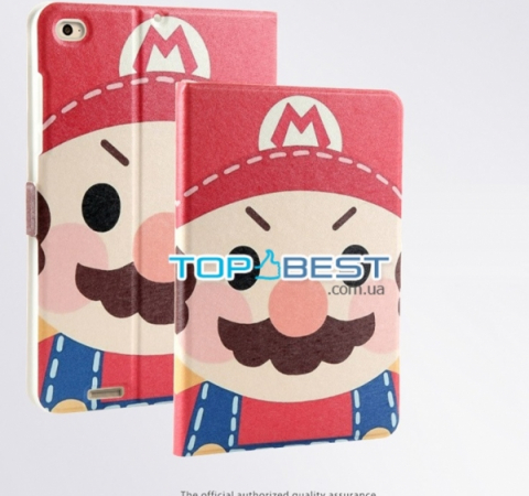 Чехол для Xiaomi MiPad 3 7.9  Fiesta Case Leather Series (Mario) Марио