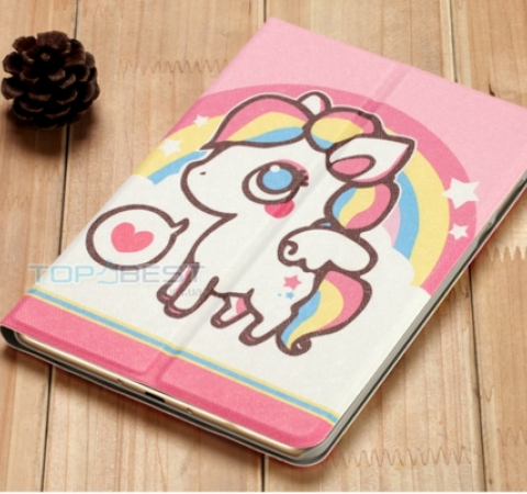 Чехол для Xiaomi Mi Pad 3 7.9 Morock Smart Case Cartoon Series Единорог