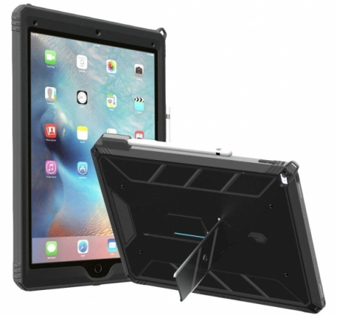 "Противоударный чехол Poetic Revolution Hybrid Heavy Duty для Apple iPad PRO 12.9"" 2015 Black"