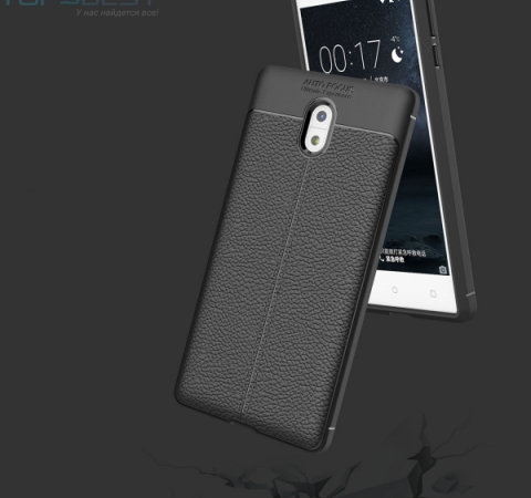 Чехол бампер Anomaly Leather Fit Series для Nokia 3 Red (Красный)