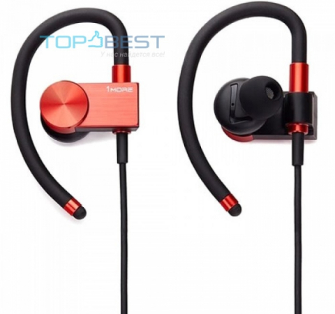Bluetooth гарнитура 1More EB100 Ear-Hook Style Red (Красный)