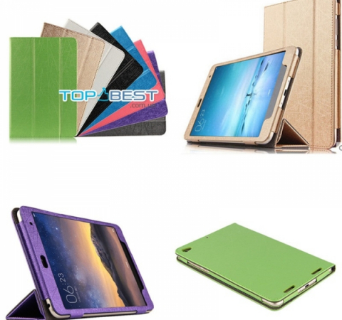 Чехол книжка для Xiaomi MiPad 3 7.9 Multi-range Silk Case Green (Зеленый)
