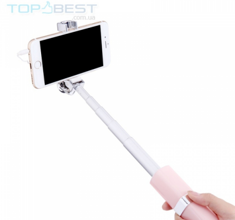 Селфи палка Nillkin Nice Selfie Stick для Apple iPhone, Samsung, Sony, Huawei, Meizu White (Белый)